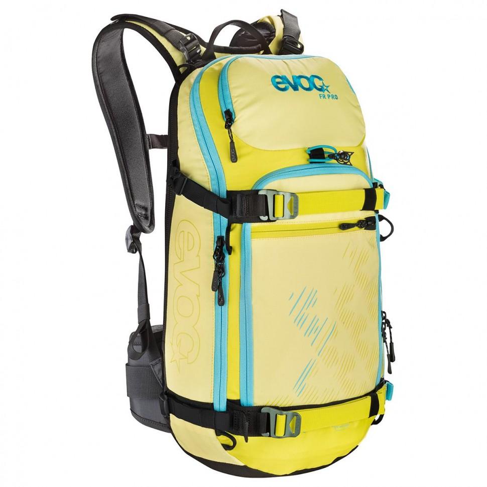 Рюкзак горнолыжный EVOC Fr Pro Women Yellow-Sulphur 20L 2020 фото