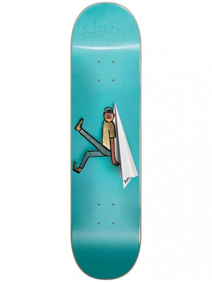 Дека для скейтборда ALMOST Yuri JJ Cutout R7 8.25
