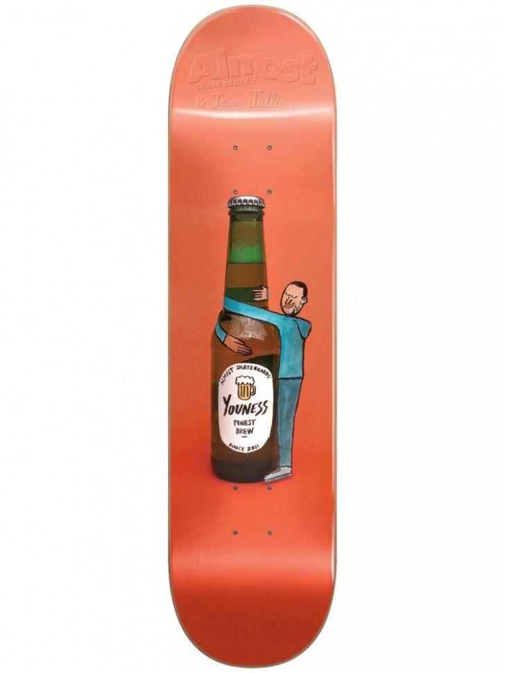 Дека для скейтборда ALMOST Youness JJ Cutout R7 8
