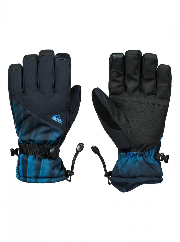 Перчатки QUIKSILVER Mission Glove M Daphne Blue_Stellar