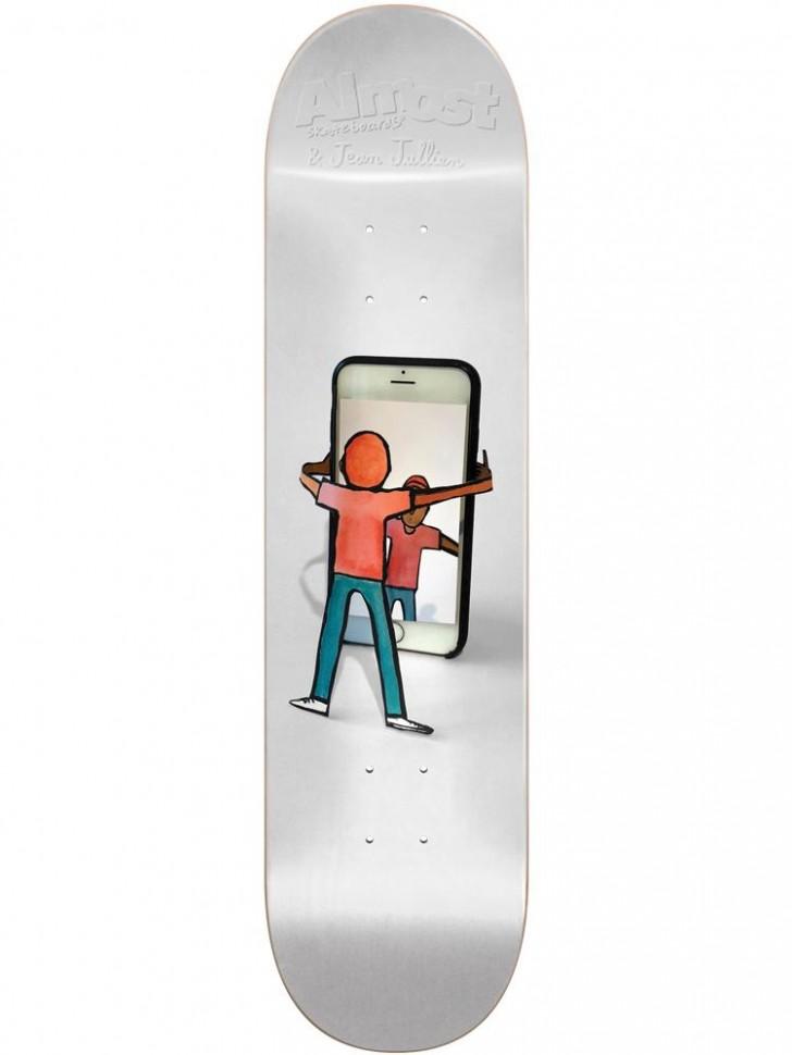 Дека для скейтборда ALMOST Daewon JJ Cutout R7 8.25