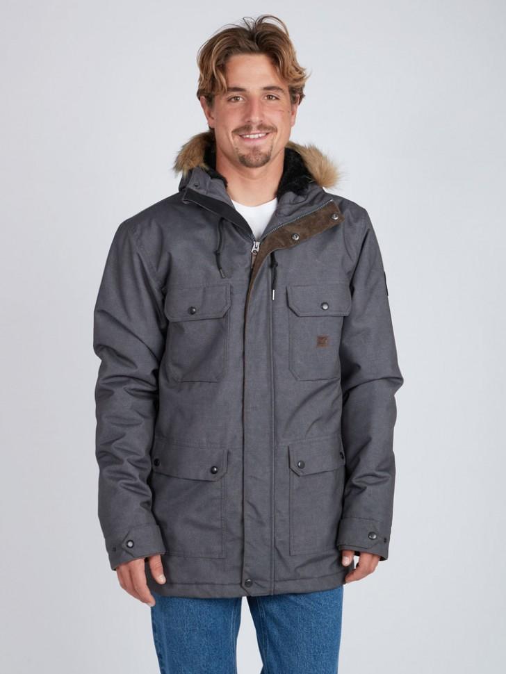 Парка мужская BILLABONG Olca 10K Jacket Asphalt фото