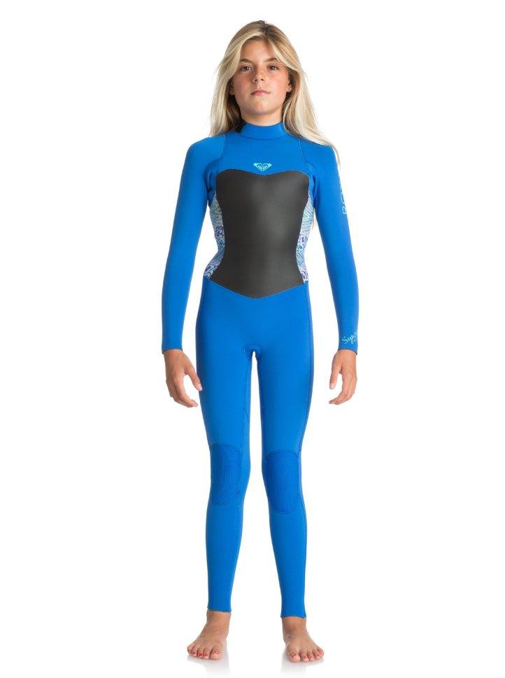 Гидрокостюм для девочек-подростков ROXY G43 Syn Bz G Sea Blue Ii