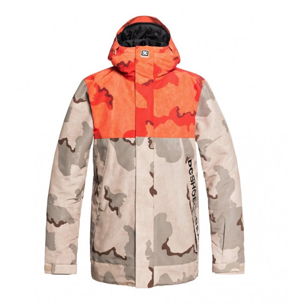 Купить со скидкой Куртка для сноуборда мужская DC SHOES Defy M Incense Dcu Camo Men