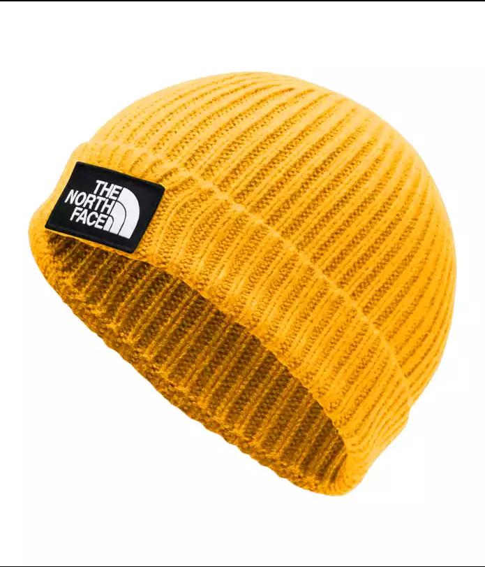 Купить со скидкой Шапка THE NORTH FACE Tnf Logo Box Cuf Bne Tnf Yellow 2020