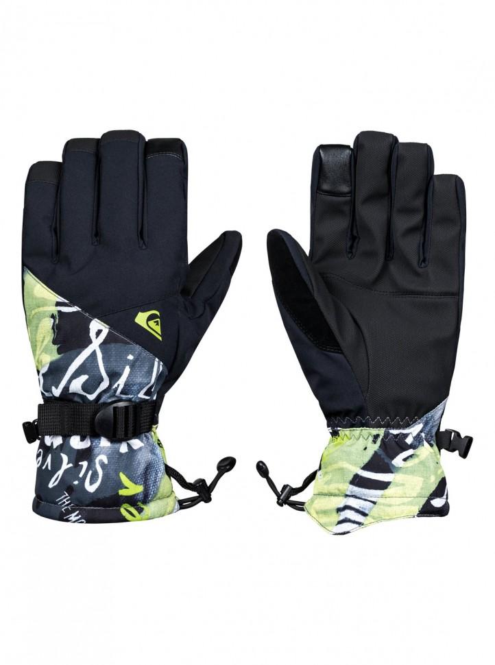 Перчатки QUIKSILVER Mission Glove M Black_Construct