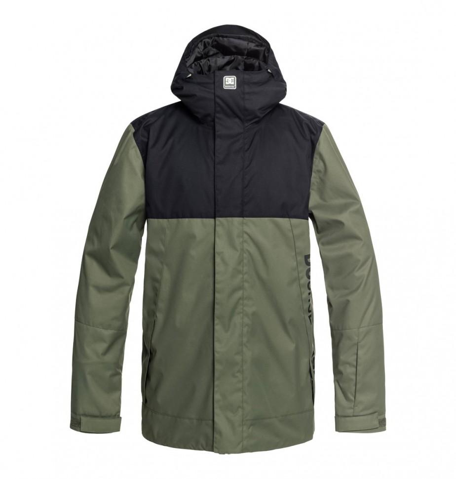 Купить со скидкой Куртка для сноуборда мужская DC SHOES Defy M Beetle