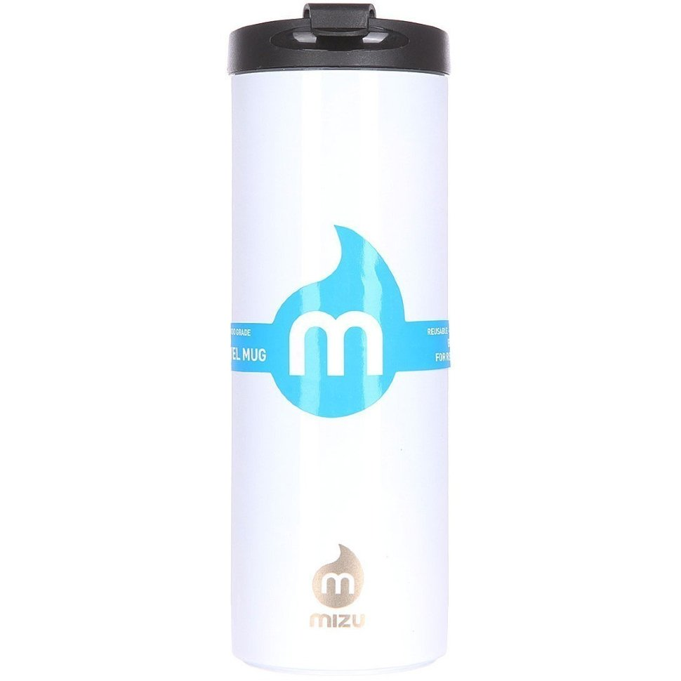 Термокружка MIZU TRAVEL MUG Glossy White LE  фото