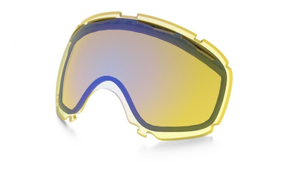 Линза OAKLEY Repl Lens Canopy High-Intensity Yellow