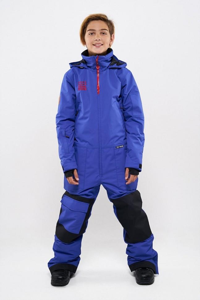 Фото #1: Комбинезон для сноуборда подростковый COOL ZONE Teens Ice Синий
