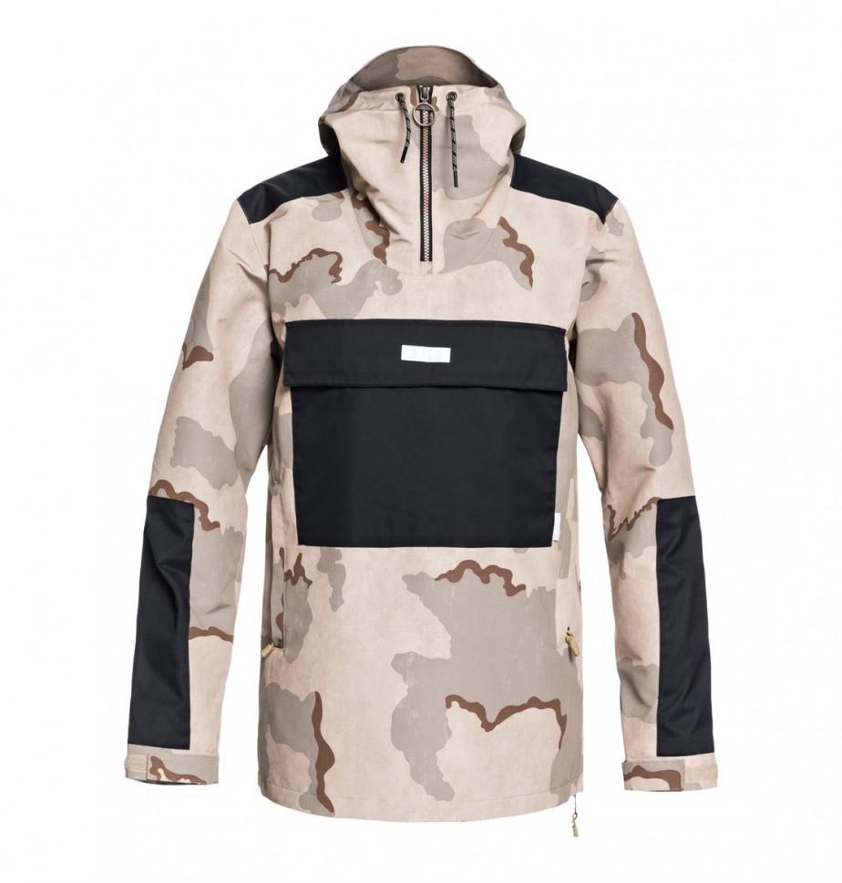 Куртка для сноуборда мужская DC SHOES Rampart Jkt M Incense Dcu Camo Men