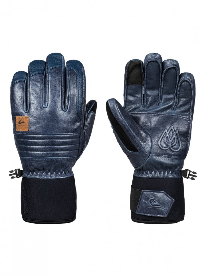 Купить со скидкой Перчатки QUIKSILVER Tr Gore Glove M Dress Blues
