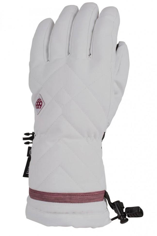 Перчатки для сноуборда женские 686 Wms Patron Gauntlet Glove White фото