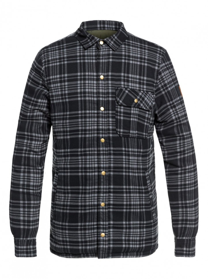 Куртка QUIKSILVER Wildca Plaid Jk M Grape Leaf