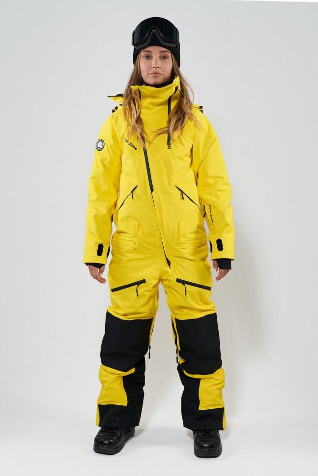 Комбинезон для сноуборда женский COOL ZONE Kite Желтый фото