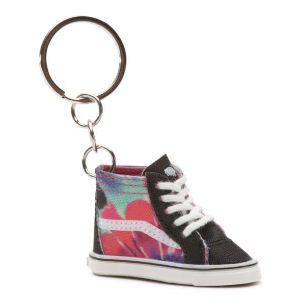 Брелок для ключей VANS Wm Vans Sk8-Hi Keychain Tie Dye фото