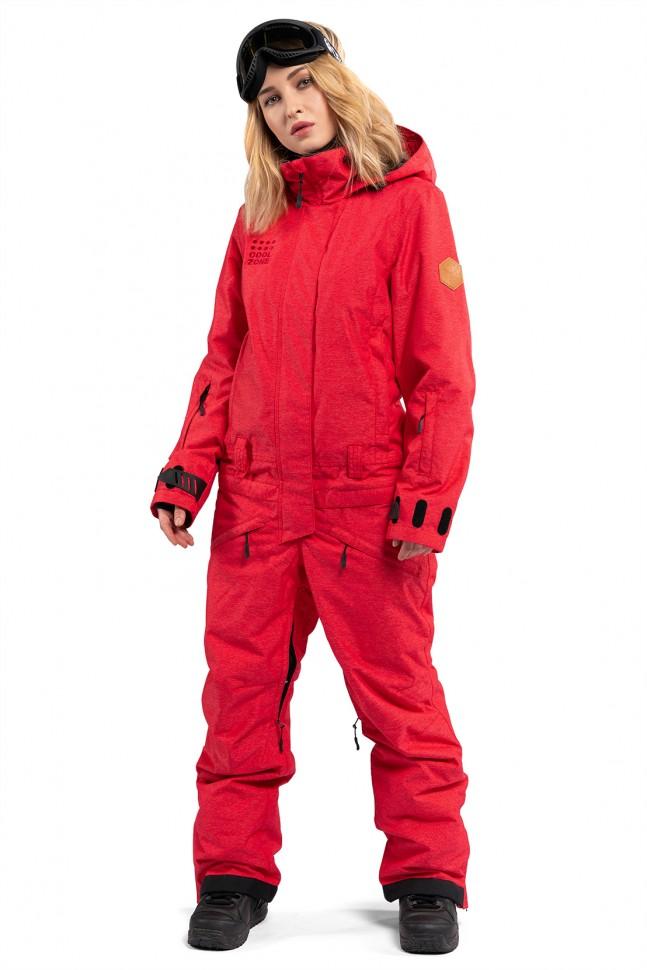 Комбинезон женский COOL ZONE Twin One Color Denim Красный Джинс