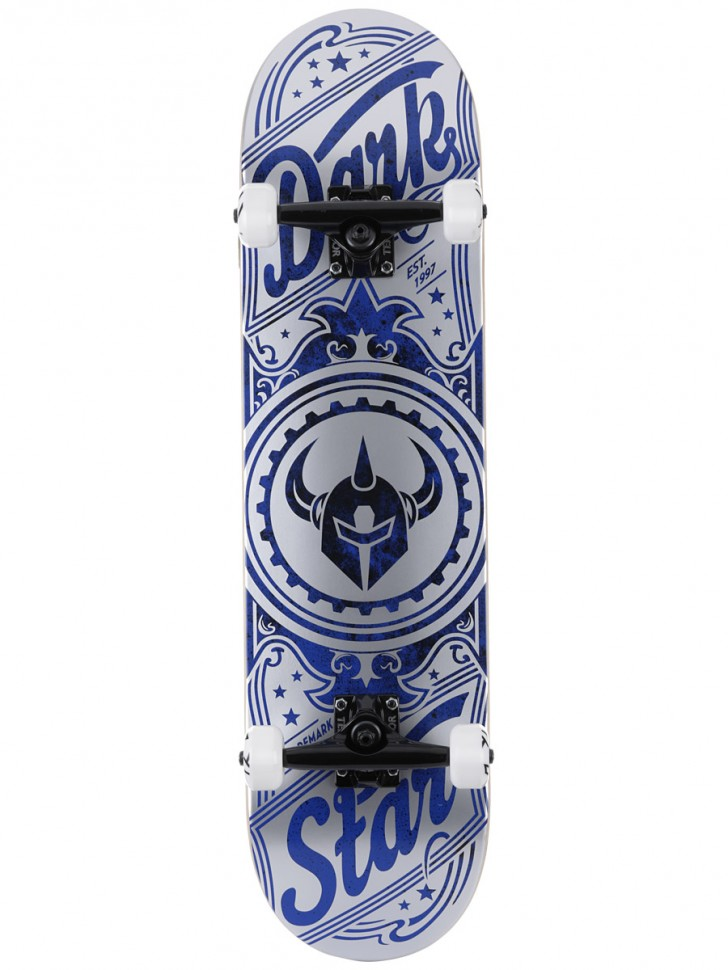 Скейтборд комплект DARKSTAR Cosmic FP Premium Complete Silver 8