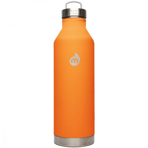 Термобутылка для воды MIZU Mizu V8 A/S St Orange Le W Steel Cap фото