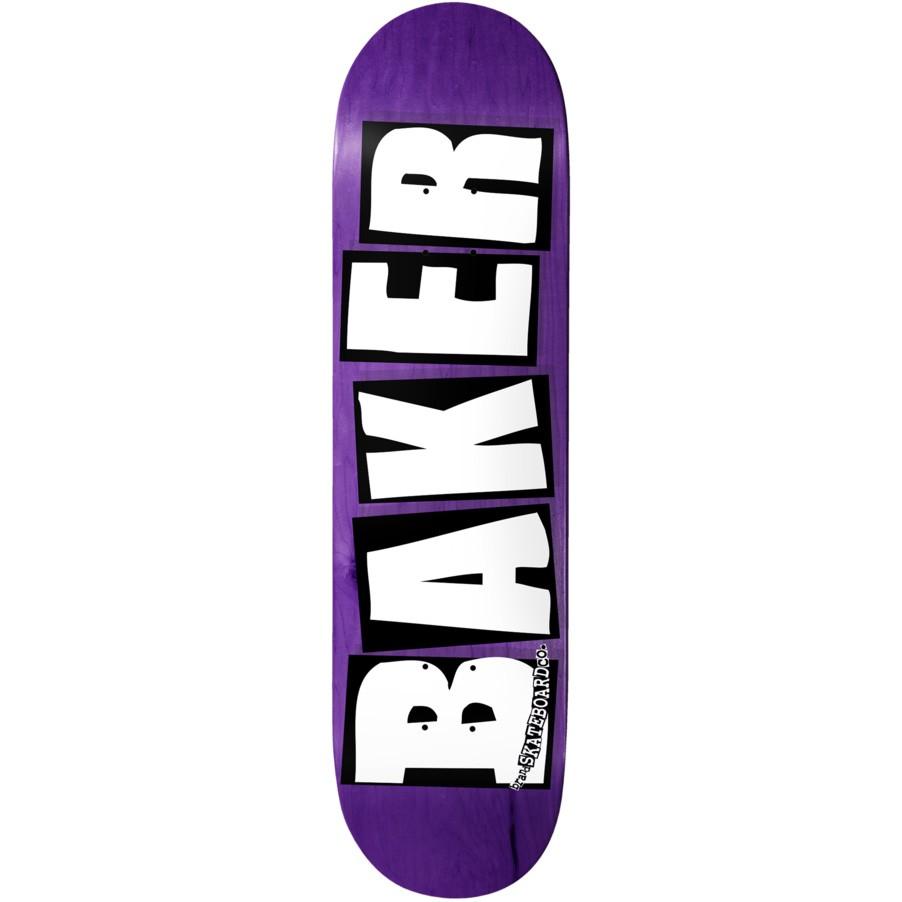 Дека для скейтборда BAKER Brand Logo Veneers Deck Assorted 8.75дюйм фото