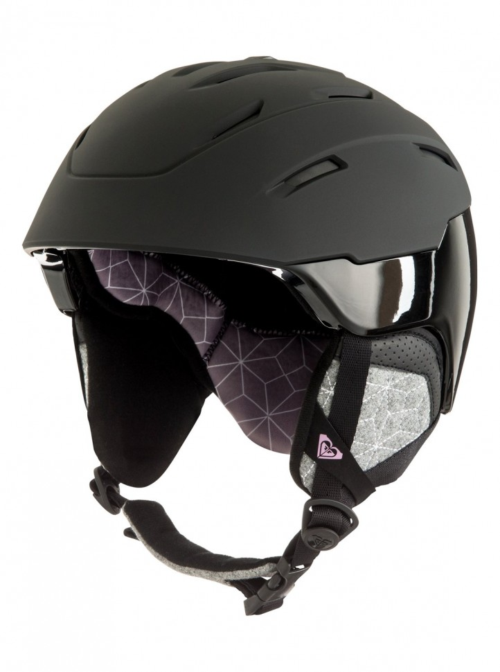 Шлем д/горных лыж и сноуборда ROXY Ivory J True Black фото