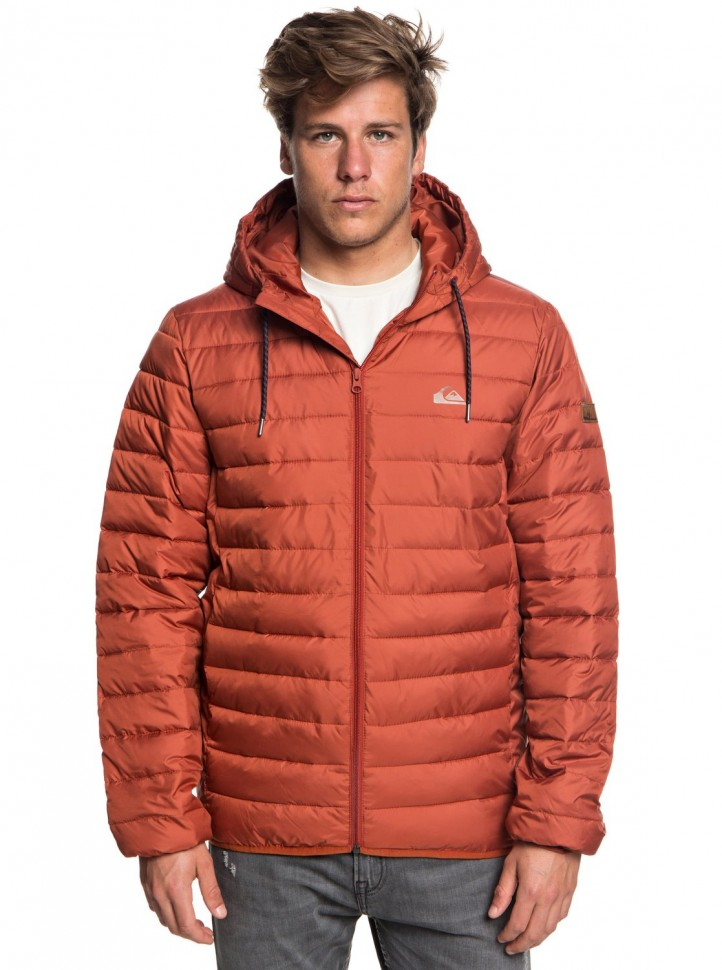Куртка QUIKSILVER Scaly M Barn Red