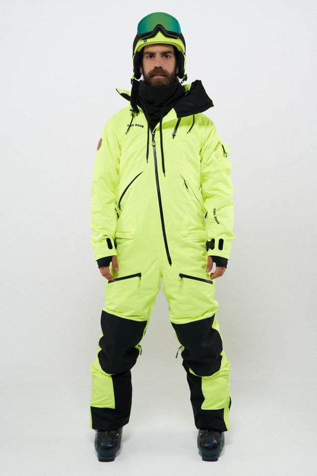 Купить со скидкой Комбинезон для сноуборда мужской COOL ZONE Kite Салатовый