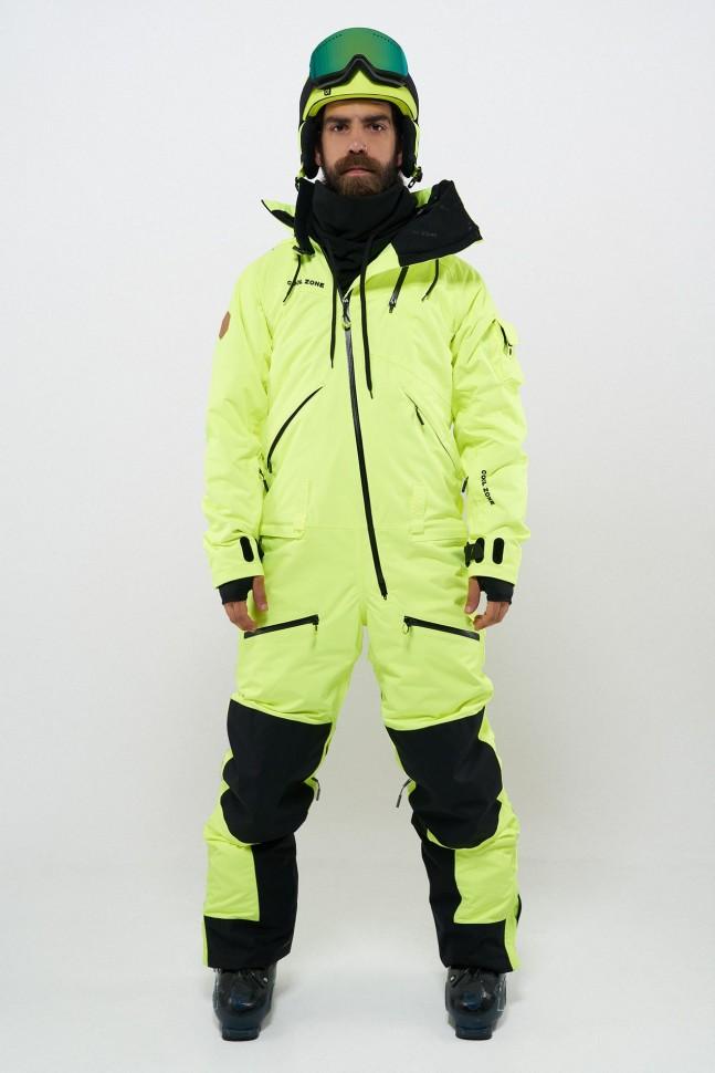 Фото #1: Комбинезон для сноуборда мужской COOL ZONE Kite Салатовый