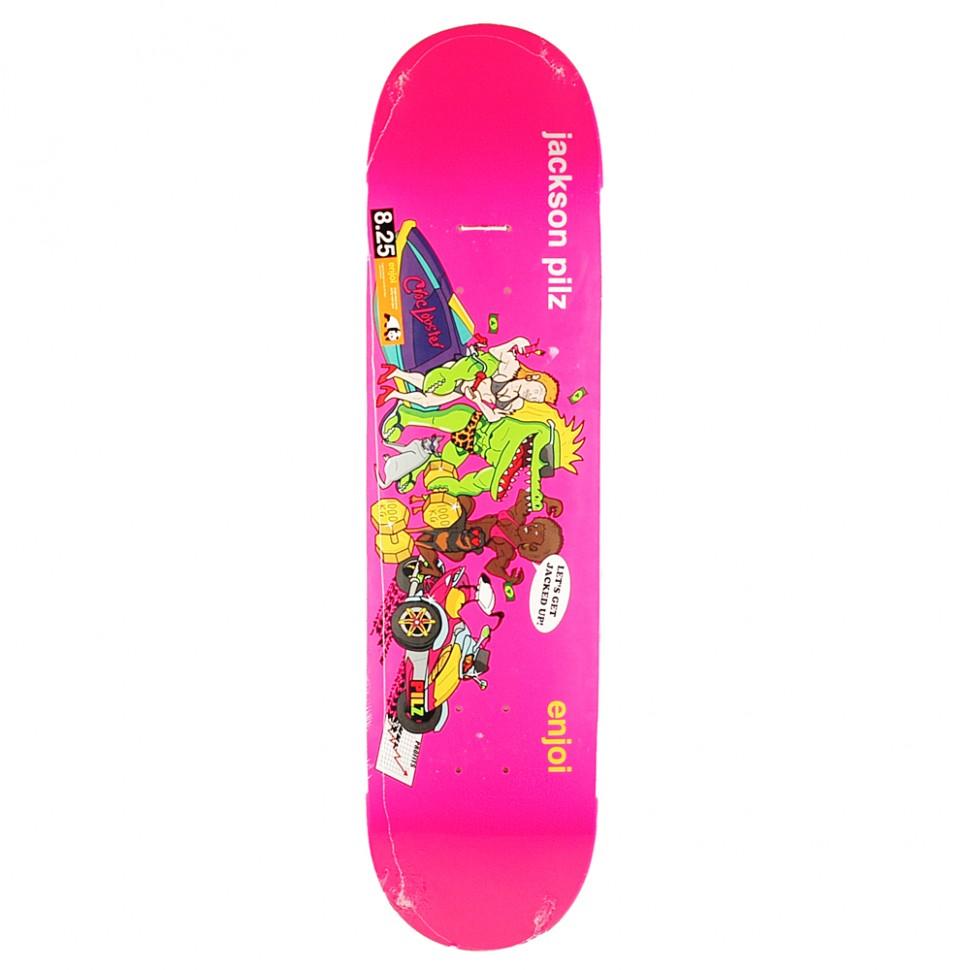 Дека для скейтборда ENJOI Jackson Croc Lobster R7 8.25