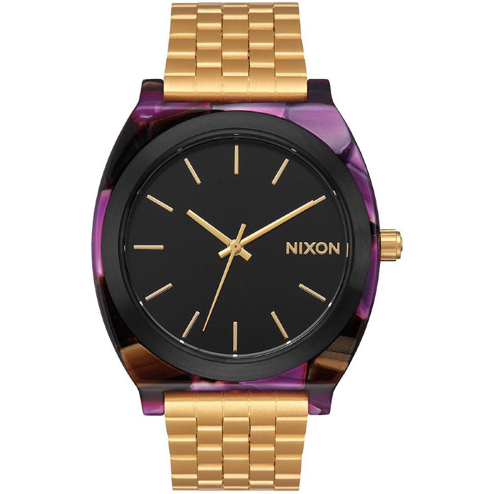Часы NIXON Time Teller Acetate A/S Multi/Gold