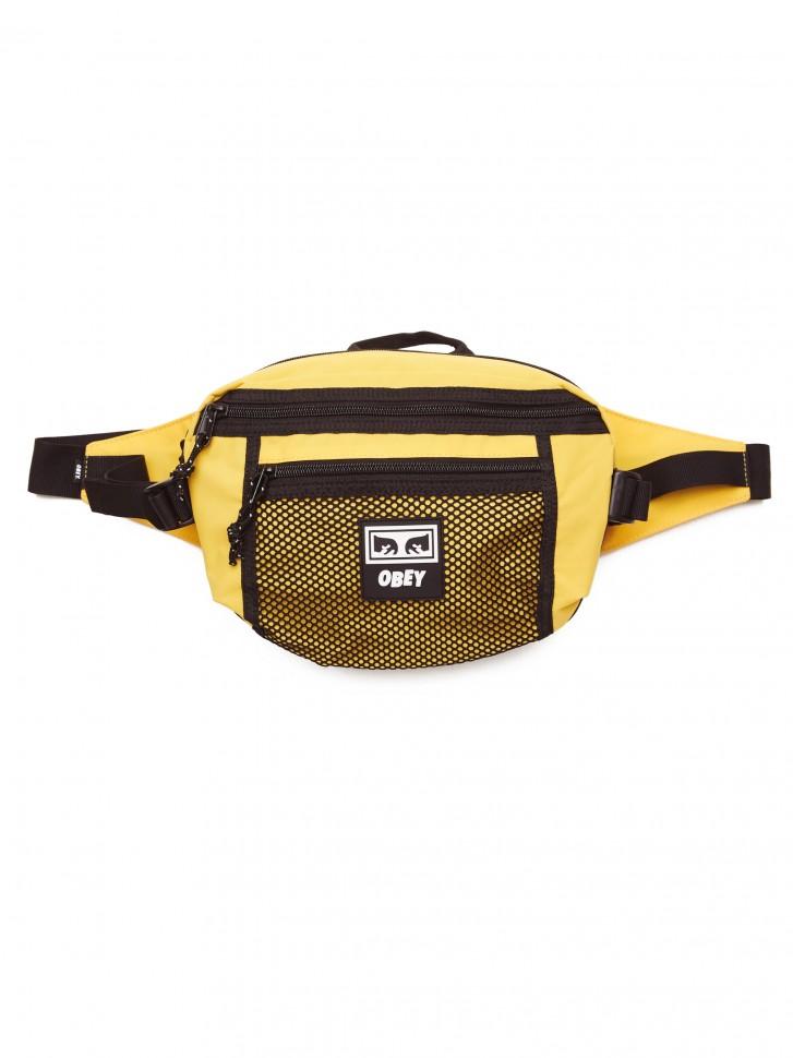 Сумка на пояс OBEY Conditions Waist Bag Energy Yellow