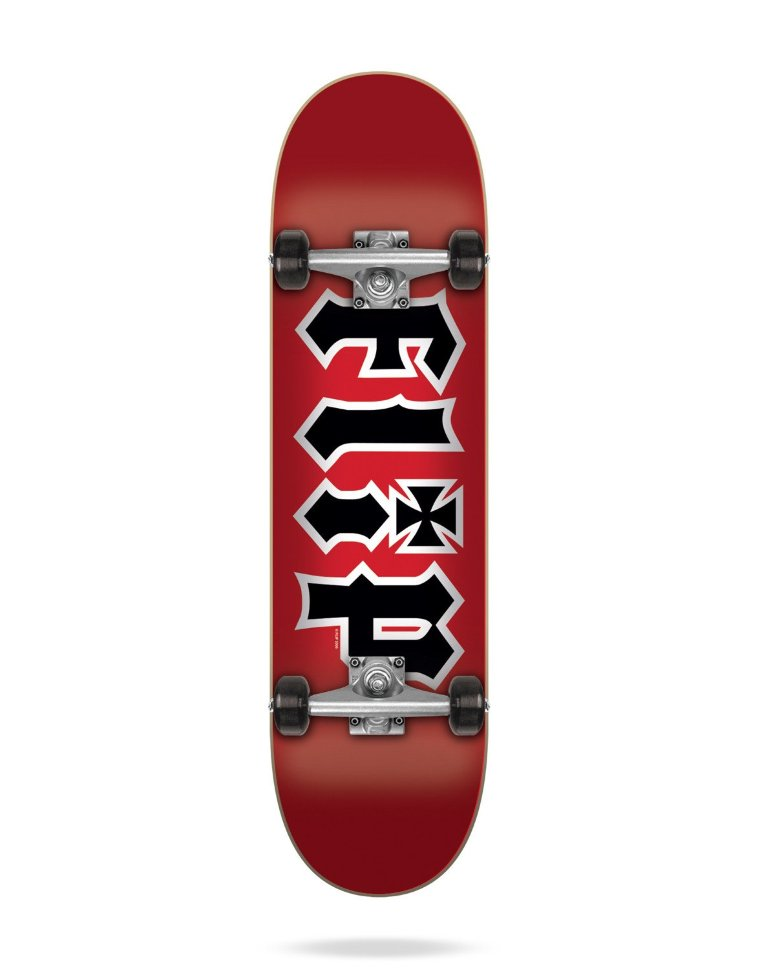 Комплект Скейтборд FLIP Hkd Complete RED 7,75